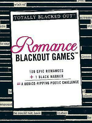 Romance Blackout Games by Adams Media (Paperback, 2012)