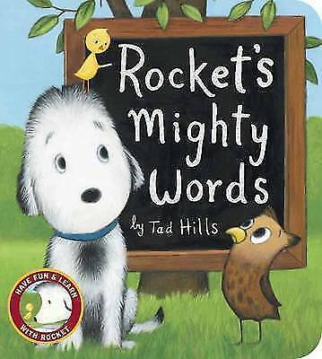 Rocket's Mighty Words by Tad Hills (Board book, 2015)