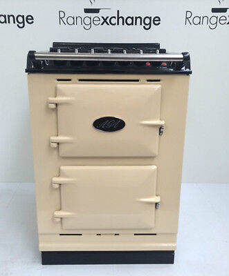 Aga Freestanding Electric Module 4:2 Gas Hobs. Cream Imaculate. Reconditioned.