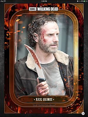 Topps Walking Dead - Sanctuary - JESUS