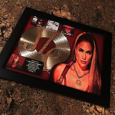 Jennifer Lopez AKA Platinum Record Disc Album Music Award JLO Grammy RIAA MTV