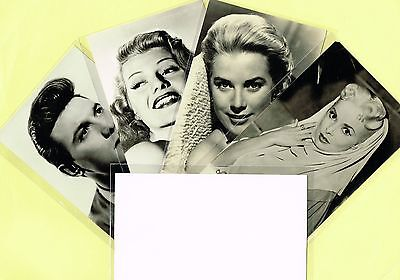 Greetings Cards -  Film Stars 1950s Postcard Size Cards issued in the UK List #3