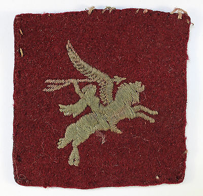 1st & 6th Airborne Divisions WW2 Embroidered Formation Badge