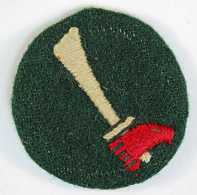39th Indian Division WW2 Formation Sign Badge