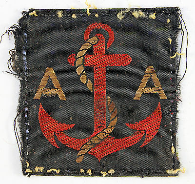 Maritime Anti-Aircraft WW2 Formation Sign Badge- 1st Pattern
