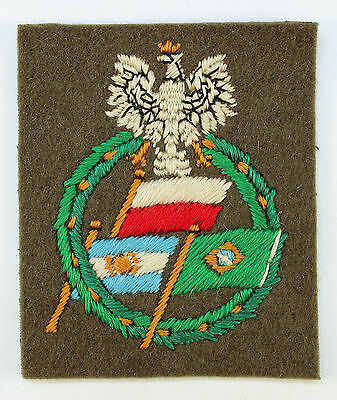 Polish Army Volunteers From SoUth America WW2 Formation Sign Badge