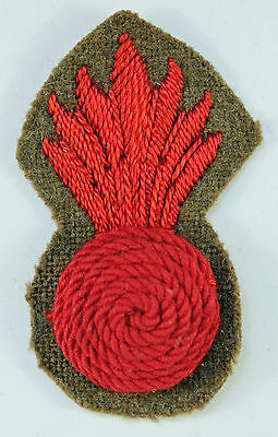Royal Marines Seige Regiment WW2 Grenade Arm Badge