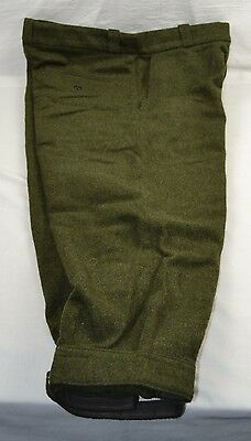 "Barbour Dark Green Plus Fours 34"" Waist Hunting Shooting Breeks Trousers Austria"