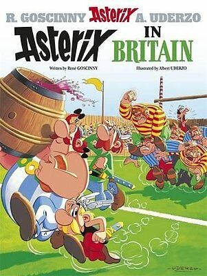 Asterix in Britain: Album 8 Hardcover
