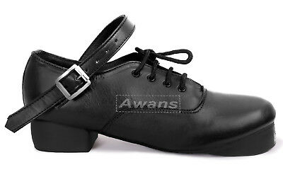 Brand New! Irish Heavy Shoes Jig Hard Dance Shoes, Genuine Leather .Hand Made