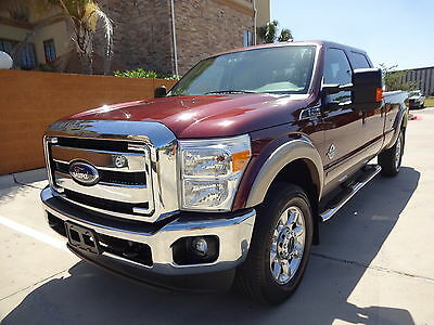 2011 Ford F-350 Lariat 2011  Ford Super Duty F-350 Lariat Crew Cab 4x4 6.7L Turbo Diesel Engine