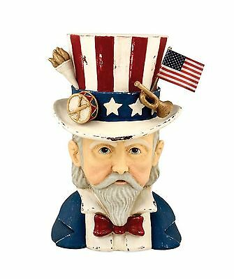 Bethany Lowe TJ6223 Uncle Sam Container 4th of July Patriotic 2017