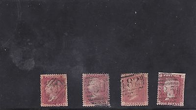 Great Britain Victoria stamps ( lot 242 )