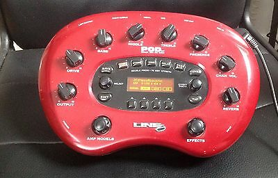 Line 6 POD XT Amp Modeller and Multi effects recording