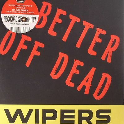 """WIPERS, The - Better Off Dead (Record Store Day 2017) - Vinyl (limited 7"""")"""