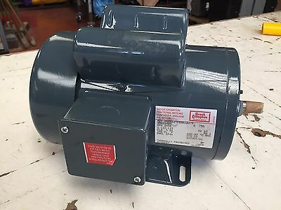 Brook Crompton 750W 1HP 110V 60Hz Electric Motor - Foot and Flange Mount