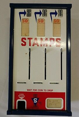 Vintage Postage Stamp Dispenser Official Post Office vending USPS LOCAL PICK UP