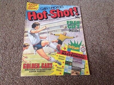 Gary Linekers Hot Shot 13th August 1988 Comic