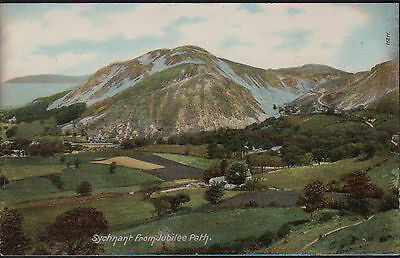 ANTIQUE PC. PENMAENMAWR, SYCHNANT FROM JUBILEE PATH. CONWY  c.1910