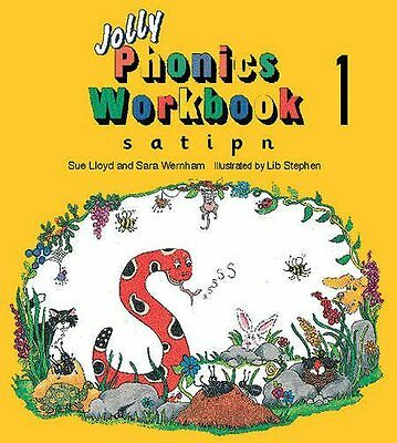 Jolly Phonics Workbook 1: s, a, t, i, p, n Paperback