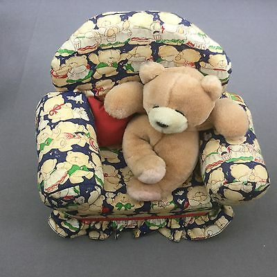 Andrew Brownsword Forever friends Bear in Armchair