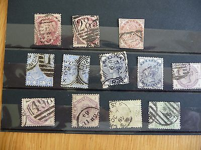 GB stamps QV surface printed