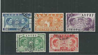Ethiopia 1949 Liberation Set Fine Used