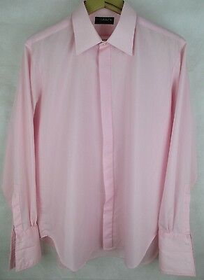 Vintage 1970's M&S Mens Formal Shirt - Long Sleeve - Double Cuff - St Michael