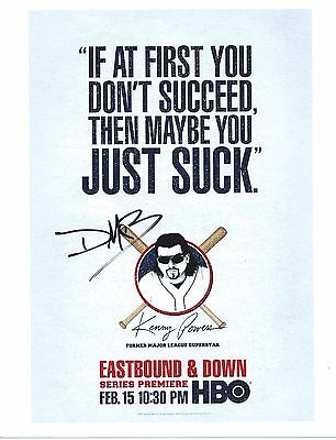 DANNY MCBRIDE Hand Signed 8x10 Autographed Photo With COA - EASTBOUND AND DOWN