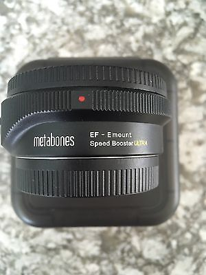 Metabones Speed Booster ULTRA - Canon EF to Sony E-Mount Lens - 0.71x
