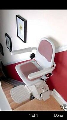 SLIMLINE ACORN STAIRLIFT SUPPLIED AND FITTED £610 LONDON AREA 18MonthWARRANTY!