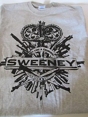 THE SWEENEY OFFICIAL PROMOTIONAL T-SHIRT - Small / Medium