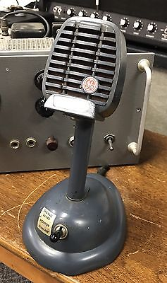 Vintage GE Shure Microphone S36 Stand, Mid Century