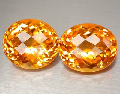 25.69 Ct.awesome! Golden Yellow Oval Citrine Vvs Brazil