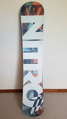 nitro t1 snowboard 153cm with burton custom bindings not capita not union