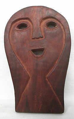 SMALL TIMOR TRIBAL MASK / AMULET / CHARM - ARTIFACT - late 20th C