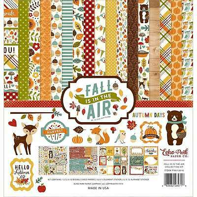 "Echo Park Collection Kit 12""X12"" Fall Is In The Air 083832284718"