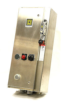 SQUARE D 8538SBW33V81CFF4P1TX11 Size 0 Combination Starter Type 4/4X 120V Coil