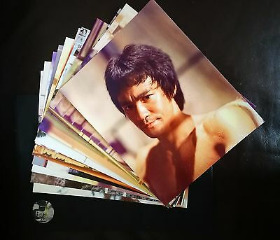 VERY LIMITED ENTER THE DRAGON 10 x 8 PHOTOSET 12 PICTURES WITH PRESENTATION ENVE