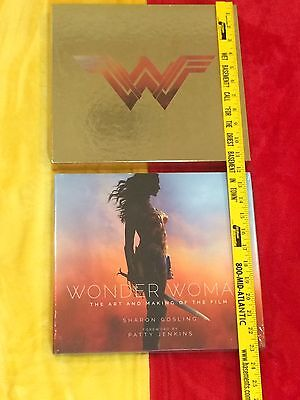 Gal Gadot Signed Wonder Woman Limited150, 2X lot, The Art And Making Of The Film
