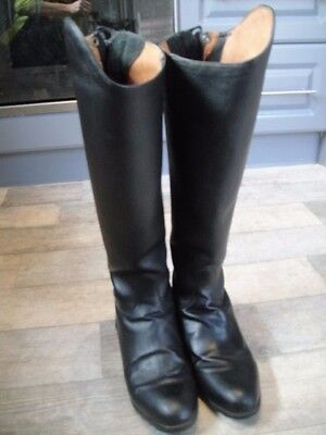 Mountain Horse Firenze High Rider Black Riding Boots Size 8 Hardly Worn