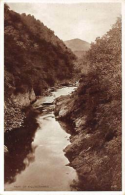 Pass of Killiecrankie River Landscape