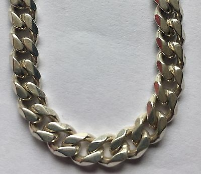 """Heavy 925 Sterling Silver 5mm 20"""" Curb Chain Necklace Curb Chain 40g+"""