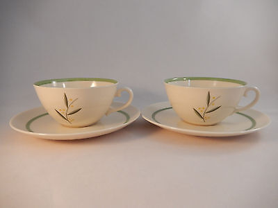 2 Franciscan Westwood China Cup Saucer Sets