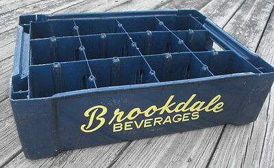 Brookdale Beverages Plastic Soda Crate Case Box - Bloomfield Clifton New Jersey