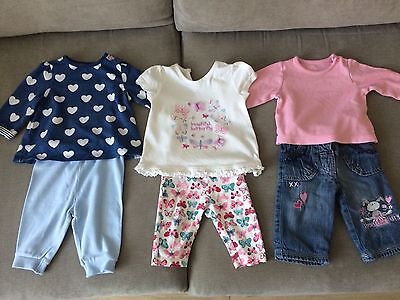 Baby Girl Clothe Bundle 0-3 Months