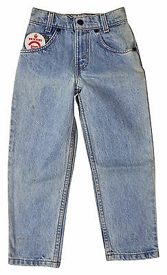VTG 90s LITTLE LEVIS 550 Relaxed Fit JEANS KIDS 6 Reg Tag Stonewash Deadstock