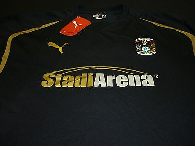 Coventry City Away Football Shirt 2008/10 (New) Long Sleeved Size Xl