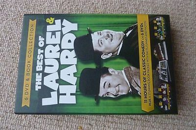 The Best of Laurel & Hardy DVD's & Book