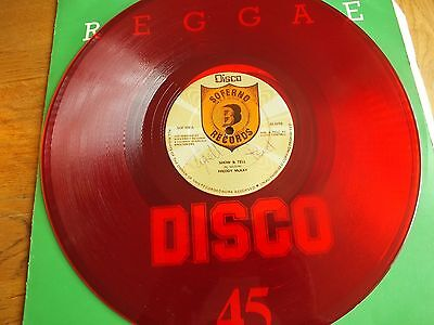 "Freddy McKay - Show & Tell  12"" RED Vinyl Single                        169"